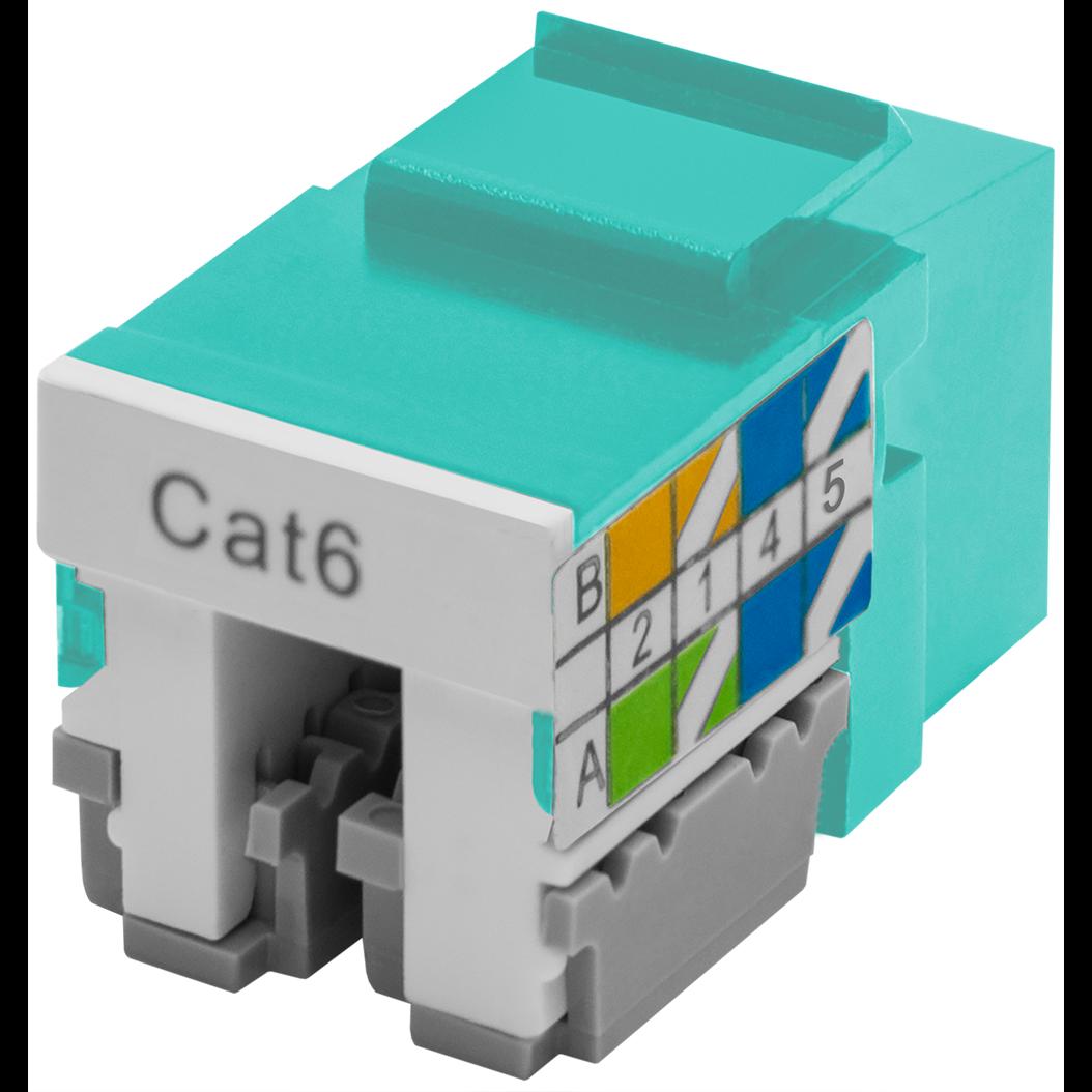 Модуль Keystone Jack SNR, неэкранированный, cat.6, вертикальная заделка, упаковка 6шт.