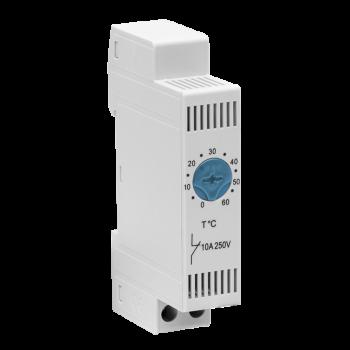 Блок управления климатом (термостат) для вентиляторов и вентиляторных полок