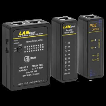 Сетевой тестер SNR-LP-01 с функцией PoE