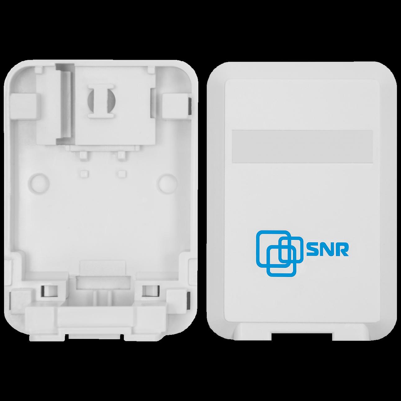 Корпус настенной розетки SNR под модули KeyStone, 1 порт