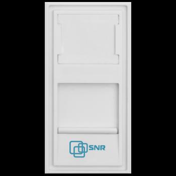 Вставка SNR под модули KeyStone, 1 порт, 45х22,5мм