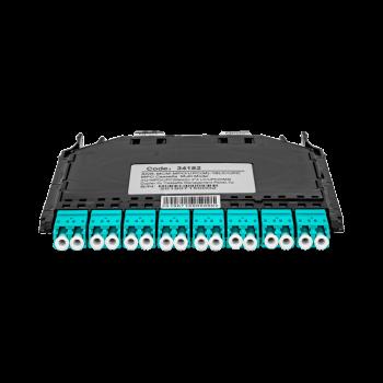 Кассета распределительная MPO/UPC на 16LC/UPC портов MM для SNR-CMP-144P