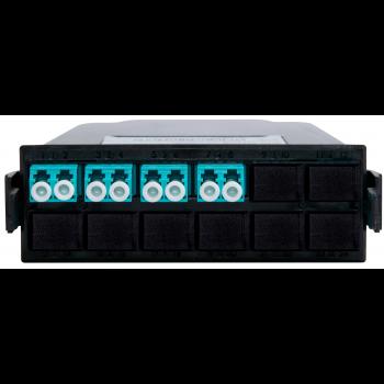 Кассета распределительная MPO/UPC на 8 LC/UPC портов, MM
