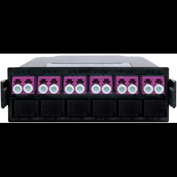 Кассета распределительная MPO/UPC на 12 LC/UPC портов, MM (OM4)