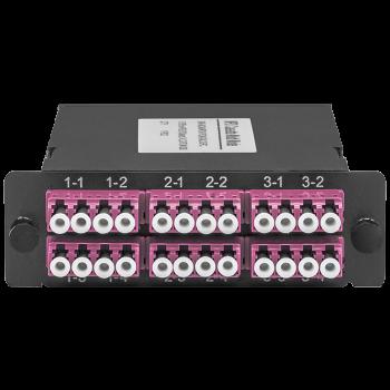Кассета распределительная MPO/UPC на 24LC/UPC портов, MM (OM4)