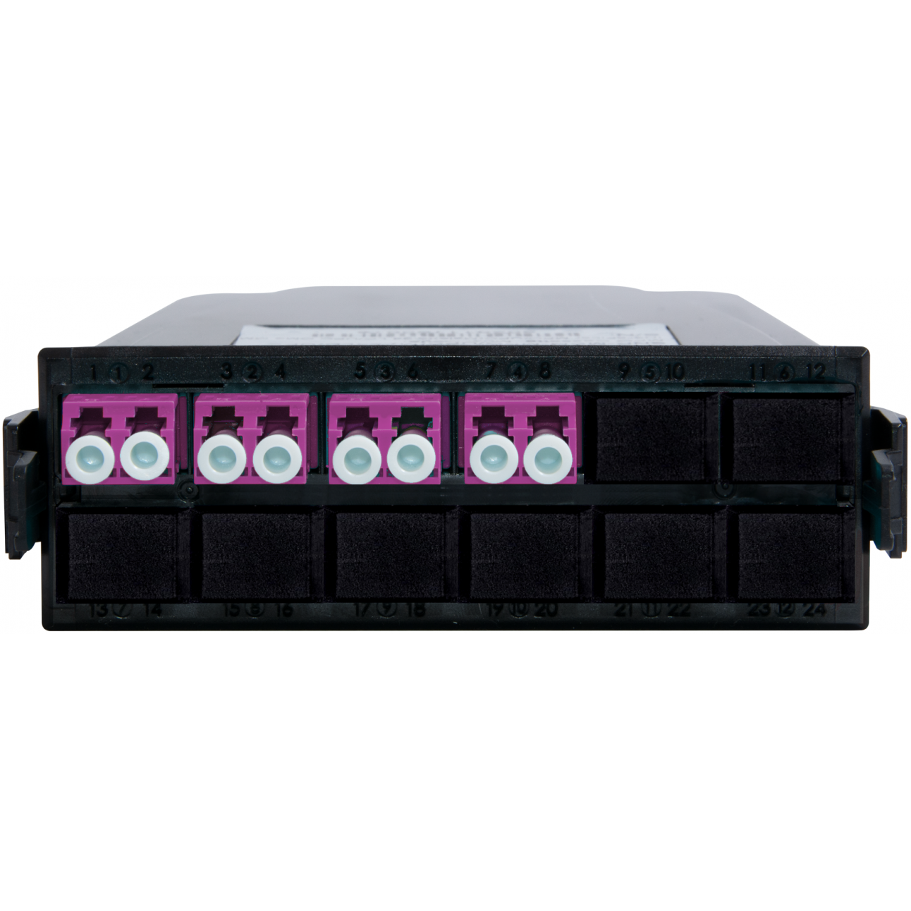 Кассета распределительная MPO/UPC на 8 LC/UPC портов, MM (OM4)