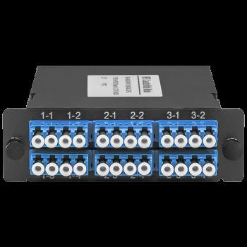 Кассета распределительная MPO/APC на 24LC/UPC портов, SM