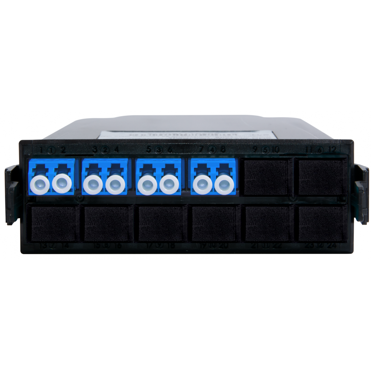 Кассета распределительная MPO/APC на 8 LC/UPC портов, SM