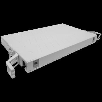 """Кросс оптический 19"""" (ШКОС) на 24 порта SC, пластиковый выдвижной, 1U"""