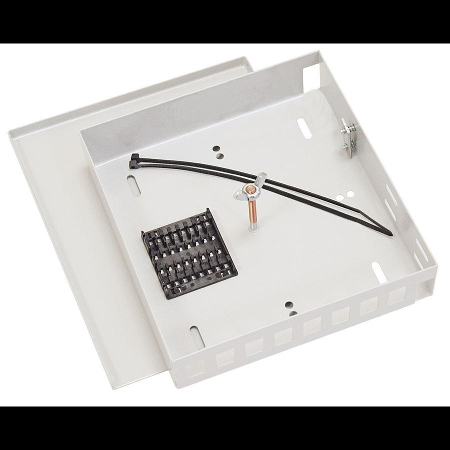 Кросс оптический настенный (ШКОН), до 8SC портов
