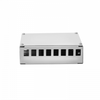Кросс оптический для шкафа серии Real, на 8 портов SC