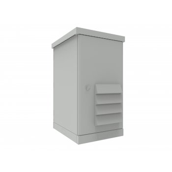 Шкаф климатический 24U, укомплектованный, тип 1
