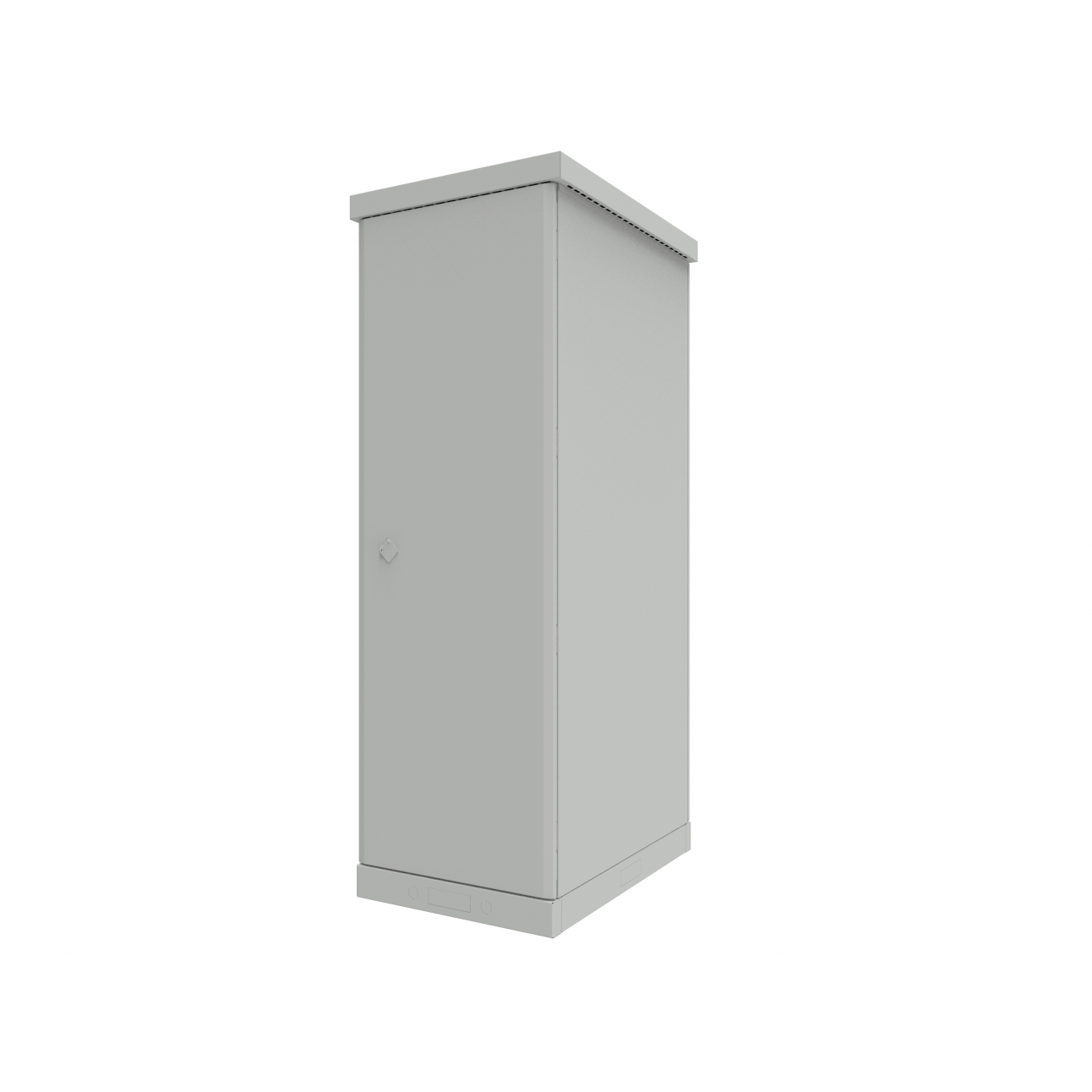 Шкаф уличный всепогодный 42U глубина 1000мм (охлаждение, контроль климата)