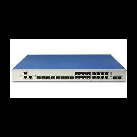 Станционный терминал OLT с 8 портами GPON (SFP) и 8 комбо-портами 10/100/1000-Base-T/SFP, 2 SFP+
