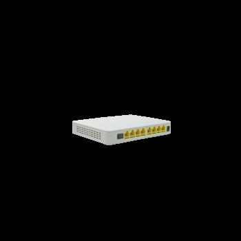 Абонентский терминал ONU GEPON, 8 портов 10/100Base-T, PoE, совместим с BDCOM