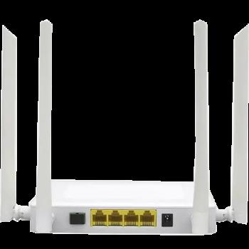 Абонентский терминал ONU GPON, 4 порта 10/100/1000Base-T, WiFi 2.4/5, С+