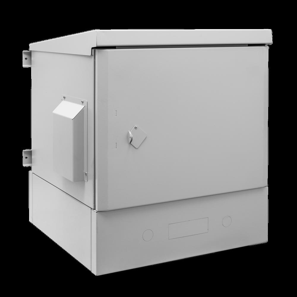 Шкаф уличный всепогодный 9U глубина 600мм (нагрев, охлаждение, контроль климата, ERD), после выставки