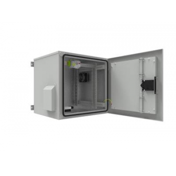 Шкаф уличный всепогодный 12U глубина 600мм (нагрев, охлаждение, контроль климата) (уценка)