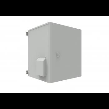 Шкаф уличный всепогодный 18U глубина 600мм (нагрев, охлаждение, контроль климата)