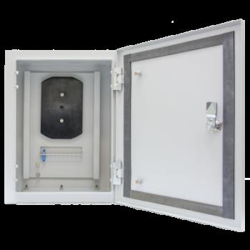 Универсальный уличный шкаф 400x300x200мм IP54, со сплайс кассетой