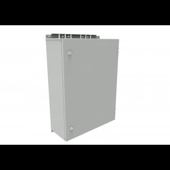Настенный термошкаф 600x800x250 мм, IP65 (нагрев, контроль климата)