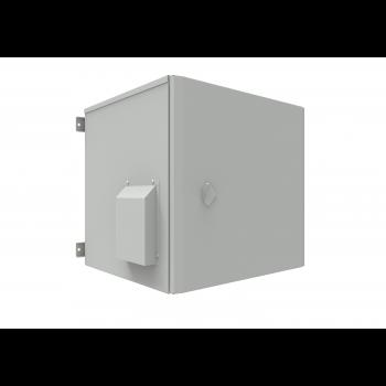 Шкаф уличный всепогодный 12U глубина 600мм (нагрев, охлаждение, контроль климата), комплект №1