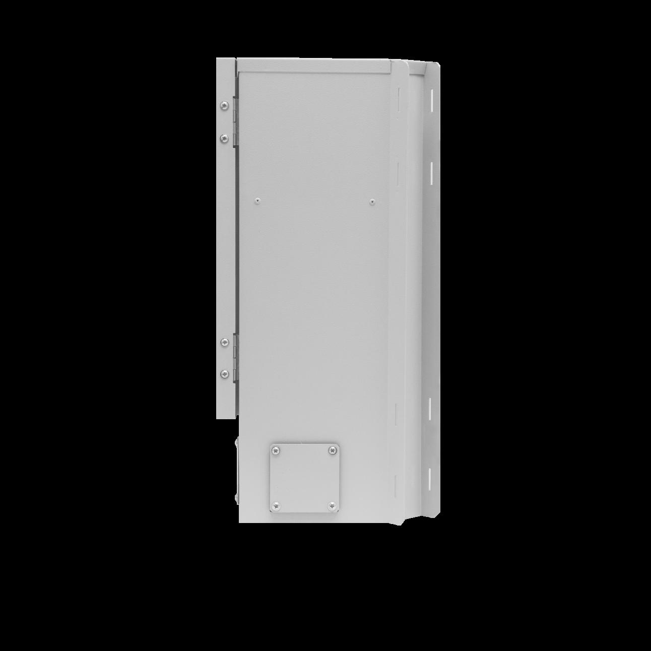 Шкаф уличный серии Real1, 510х240х245, RAL7035