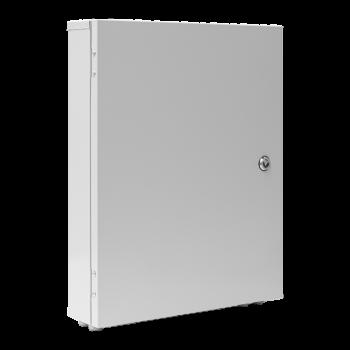 Шкаф уличный серии Real, 2U, 540х430х130, RAL7035 с утеплителем