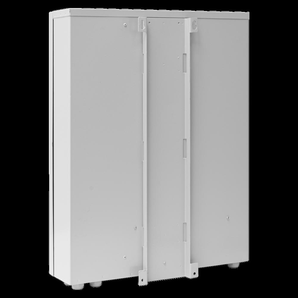 Шкаф уличный серии Real, 2U, 540х430х130, RAL7035
