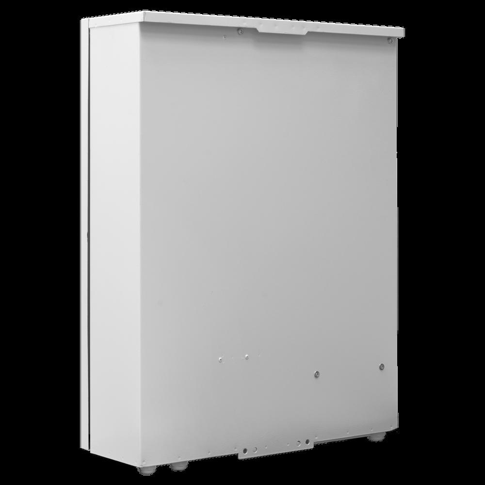 Шкаф уличный серии Real, 3U, 640х500х173, RAL7035