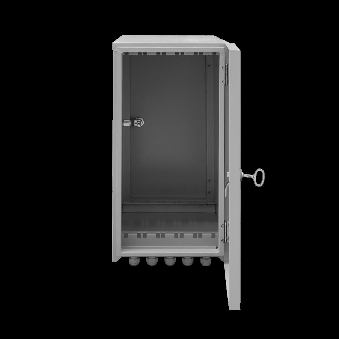 Шкаф уличный серии Real, 5U, 536х474х269, RAL7035
