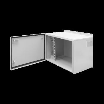 Шкаф уличный серии Real, 9U, 360х630х450, RAL7035