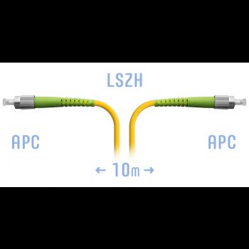 Патчкорд оптический FC/APC SM 10 метров