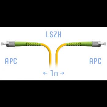Патчкорд оптический FC/APC SM 1 метр
