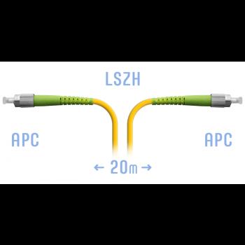Патчкорд оптический FC/APC SM 20 метров