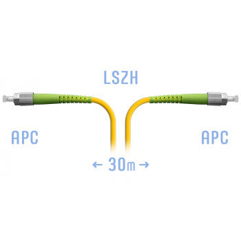 Патчкорд оптический FC/APC SM 30 метров