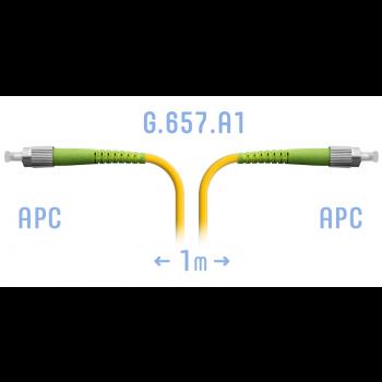 Патчкорд оптический FC/APC SM G.657.A1 1 метр