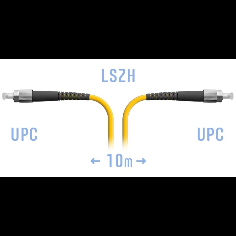 Патчкорд оптический FC/UPC SM 10м