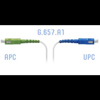 Патчкорд оптический FTTH SC/APC-SC/UPC, кабель 604-02-01W, 80 метров