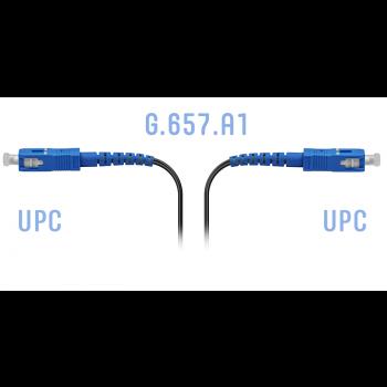 Патчкорд оптический FTTH SC/UPC, кабель 604-02-01, 80 метров