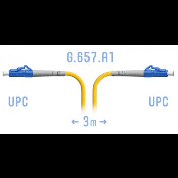 Патчкорд оптический SNR-PC-LC/UPC-A - 3 метра