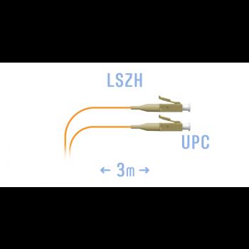 Шнур монтажный оптический LC/UPC MM 3m
