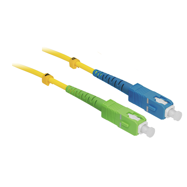 Патчкорд оптический SC/UPC-SC/APC SM 1 метр