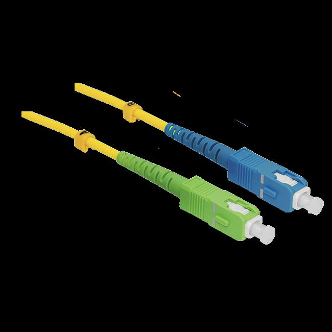 Патчкорд оптический SC/UPC-SC/APC SM 20 метров