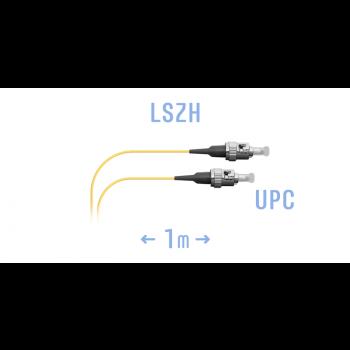 Шнур монтажный оптический ST/UPC SM 1м.