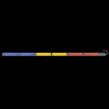 Блок электрических розеток на 30 гнезд Schuko, шнур питания 1,8 м с вилкой IEC60309 16A 3P+N+E