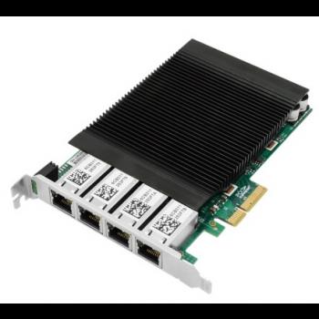 Сетевая карта c POE 4 порта 100/1000Base-T SNR-PE4P1GT