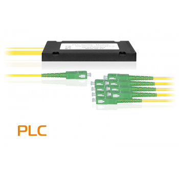 Делитель оптический планарный SNR-PLC-1x8-SC/APC