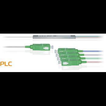 Делитель оптический планарный бескорпусный SNR-PLC-M-1x4-SC/APC