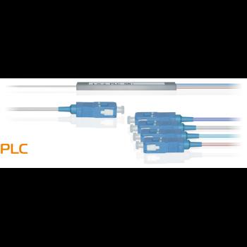 Делитель оптический планарный бескорпусный SNR-PLC-M-1x4-SC/UPC